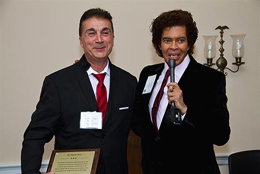 Dr. Simon Casey Awarded People of Distinction Humanitarian Award